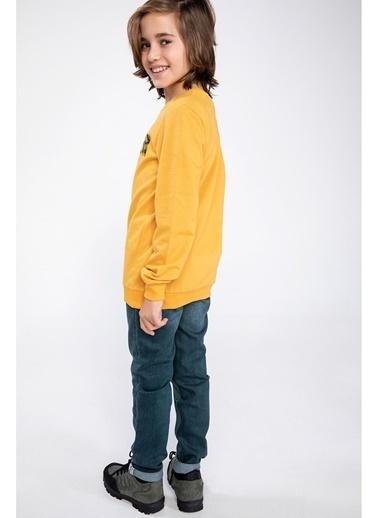 DeFacto Slim Fit Pantolon Yeşil